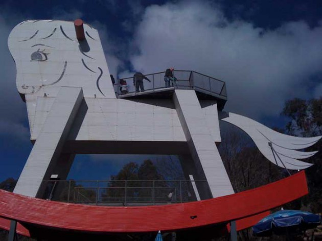 The Big Rocking Horse