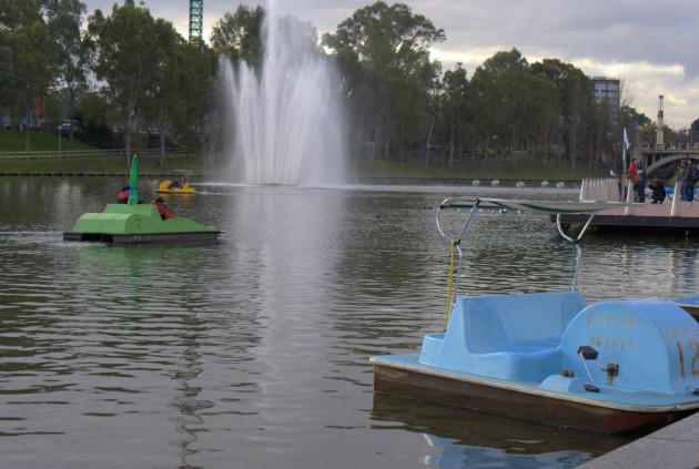 Captain Jolleys Paddleboats Elder Park