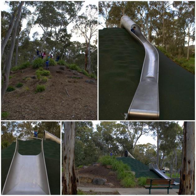 Hazelwood Park Playground slides