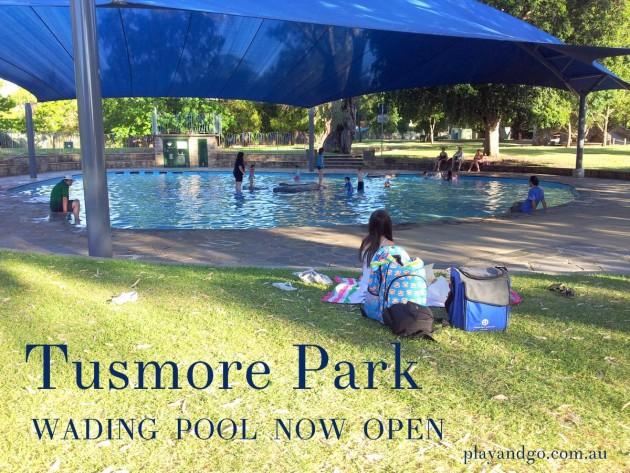 tusmore park wading pool open
