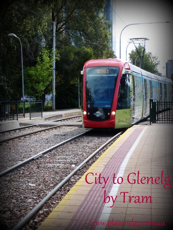 a day in glenelg - tram to glenelg 2013