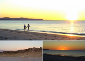 2012-01-23 Normanville Beach at Sunset