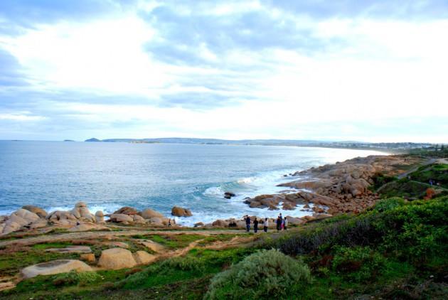 Bay looking towards Victor Harbor