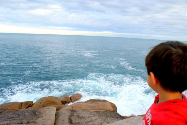 Horseshoe Bay overlooking ocean
