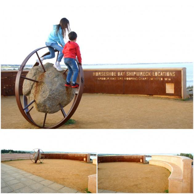 7-Pt Elliot Horseshoe Bay sculpture
