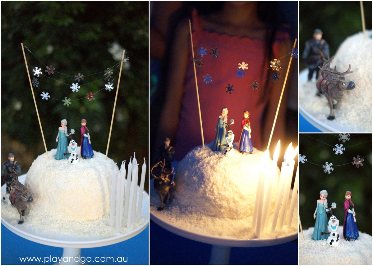 Frozen Movie Birthday Cake Disney's 'frozen' movie was