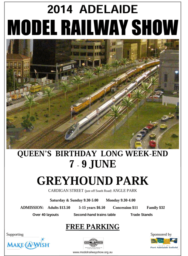 Model railway show glasgow 2015