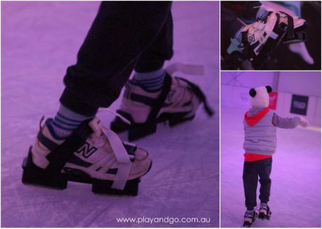 Ice Skating Glenelg child skates