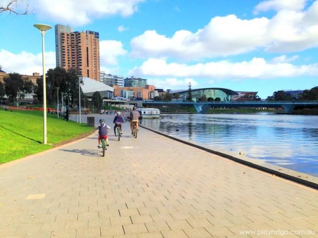 We love living in Adelaide - Torrens Lake