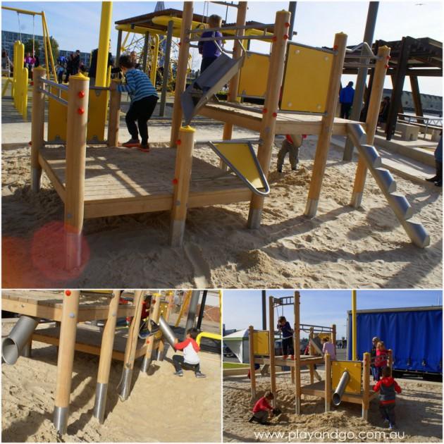 Harts Mill Playground sand pit