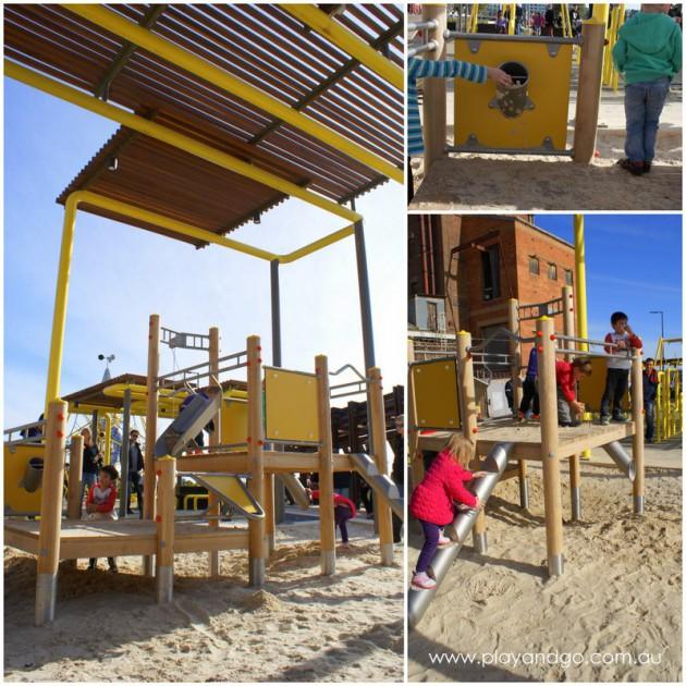 Harts Mill Playground sand pit 2