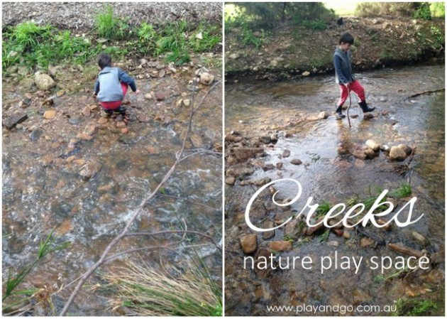 Creeks nature play space