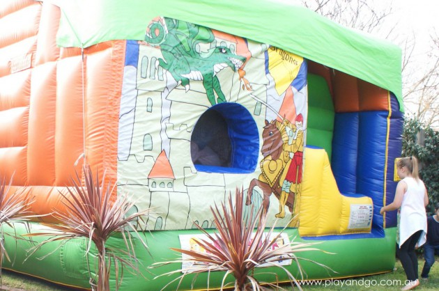 How to train a dragon bouncy castle