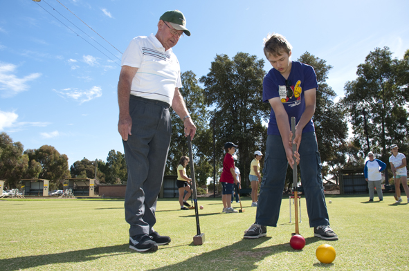 Woodville Croquet School Holiday Programme