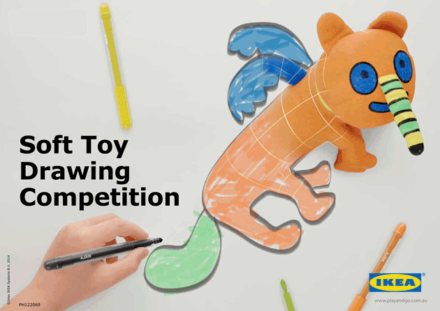 IKEA Invites Kids To Co create A Limited Edition Soft Toy Play And Go