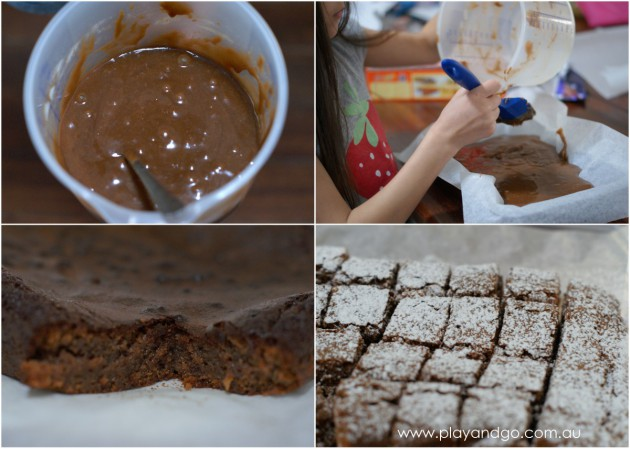 brownies collage