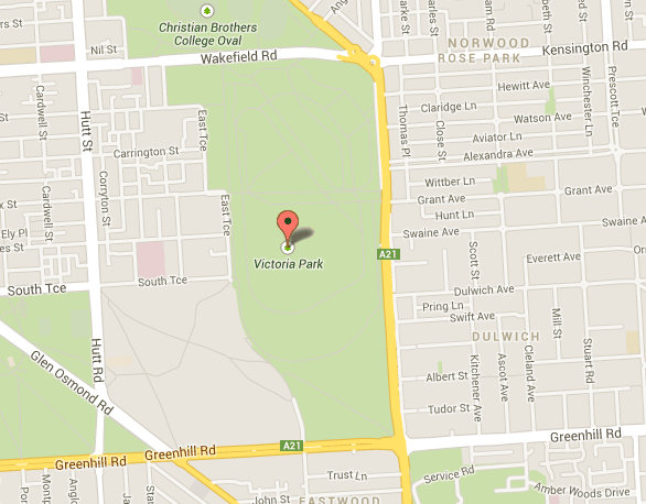 map of victoria park