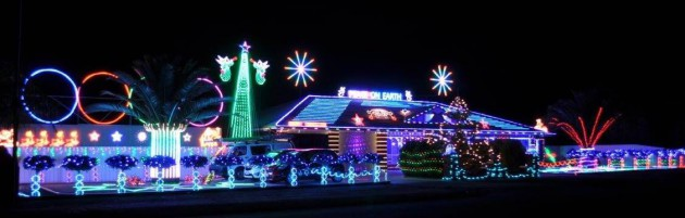 108 Chellaston Rd Munno Para West - pic from Adelaide Christmas Lights Locations Facebook Page