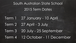 SA 2015 School Terms