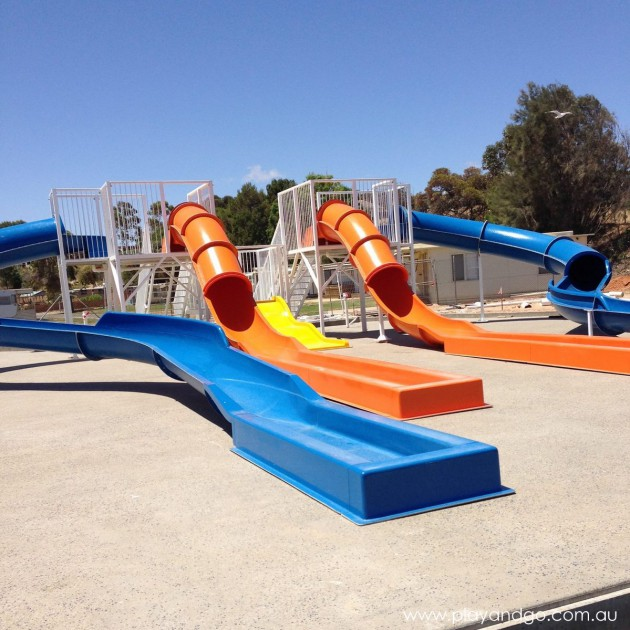 New water park in moonta for summer sneak peek play and go