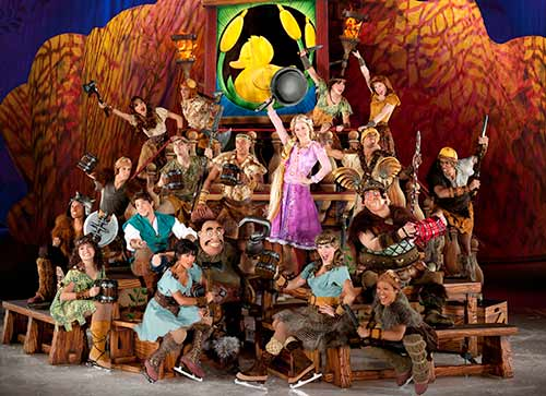 disney on ice dare to dream cast