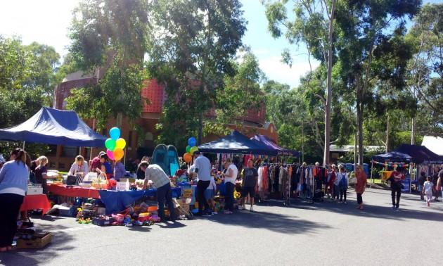 St Ignatius Fair stalls