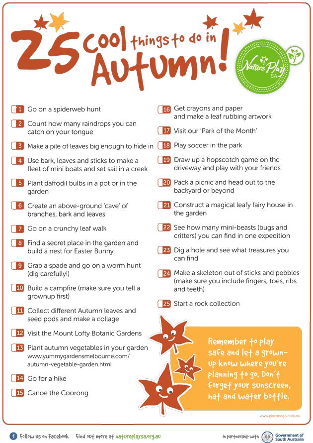 25Things_AutumnList2015