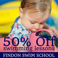 Findon Swim School 50% off swimming lessons