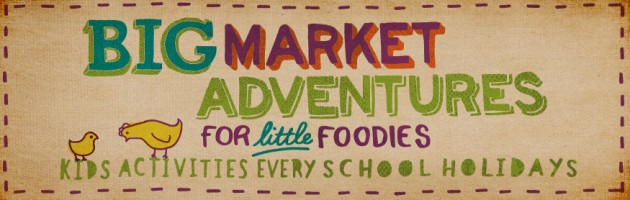 Spring School Holiday fun at the Adelaide Central Market