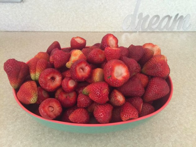 Mt Compass strawberries