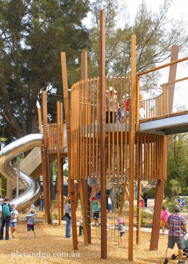 natures playground adelaide zoo climbing
