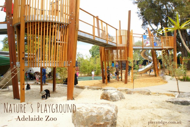 Natures playground Adelaide Zoo Nature play south australia