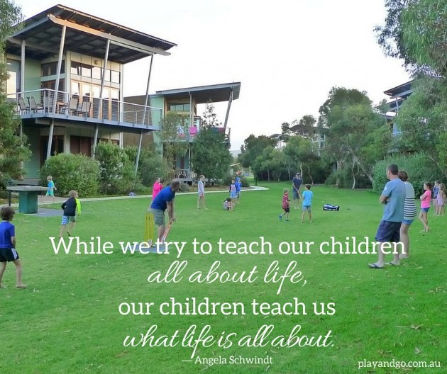 While we try to teach our children all about life