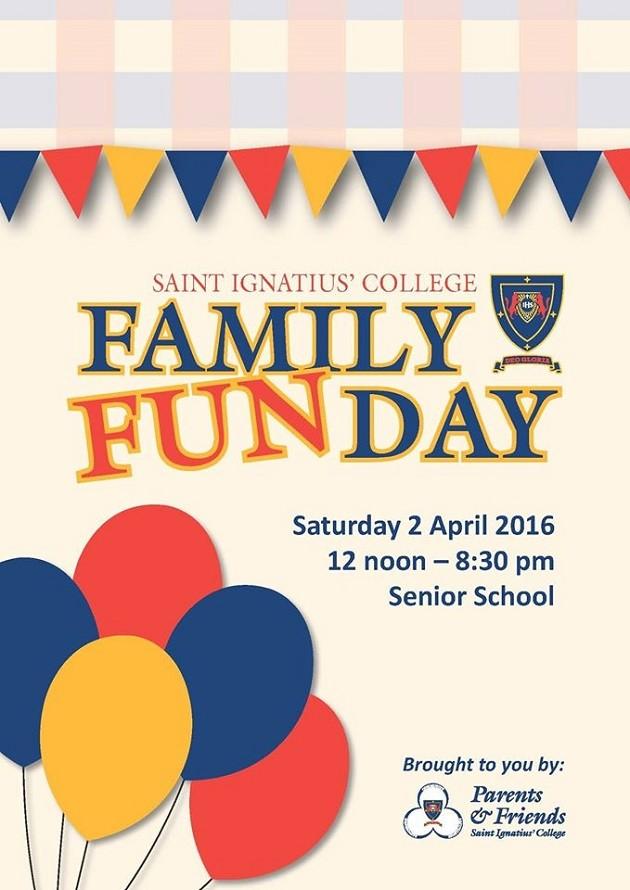 St Ignatius family fun day