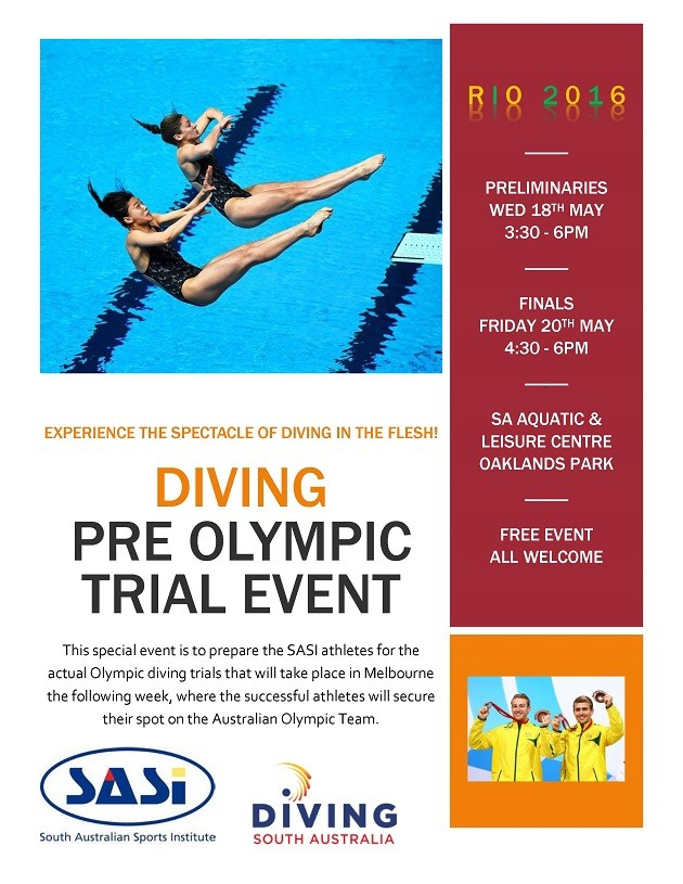 Poster - Pre-Olympic Trial Event
