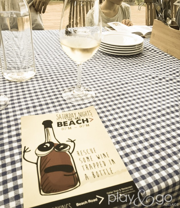 dining at beach road wines