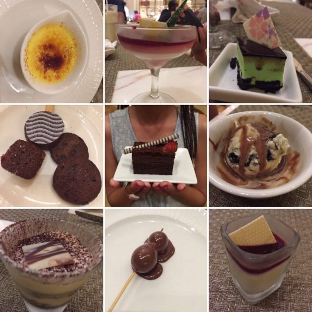 Dessert at Mulia Resort buffet