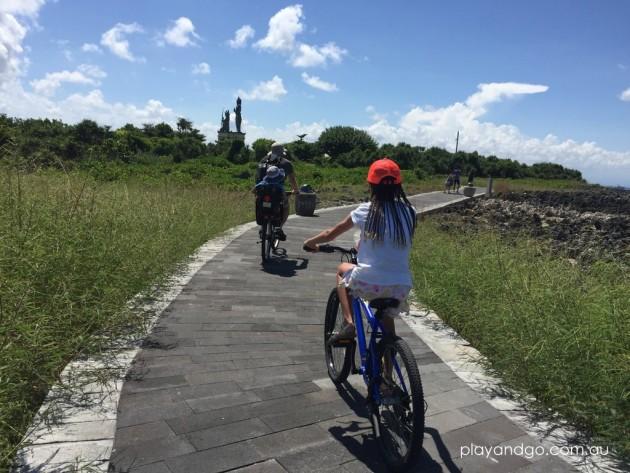 Nusa Dua bike ride