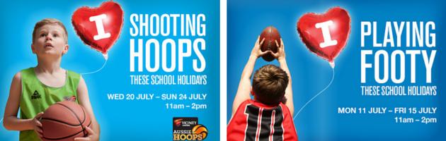 Free basketball, handball and pizza making activities