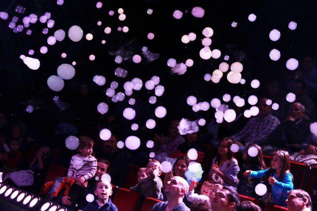 Gazillion bubbles audience