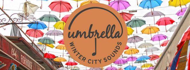 umbrella winter city sounds