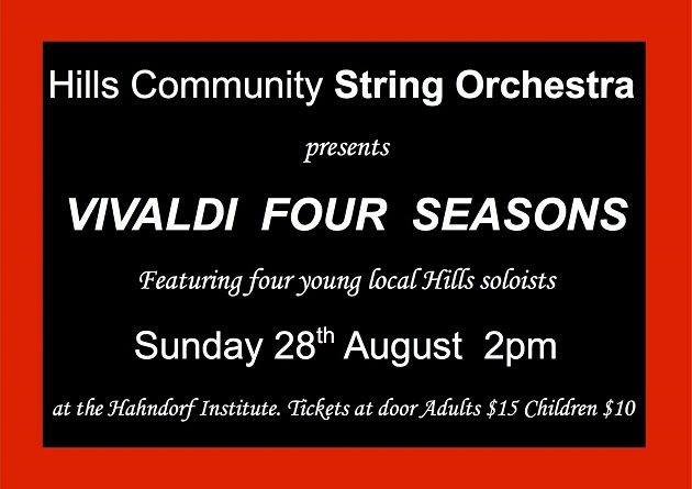 Vivaldi Four Seasons in Hahndorf