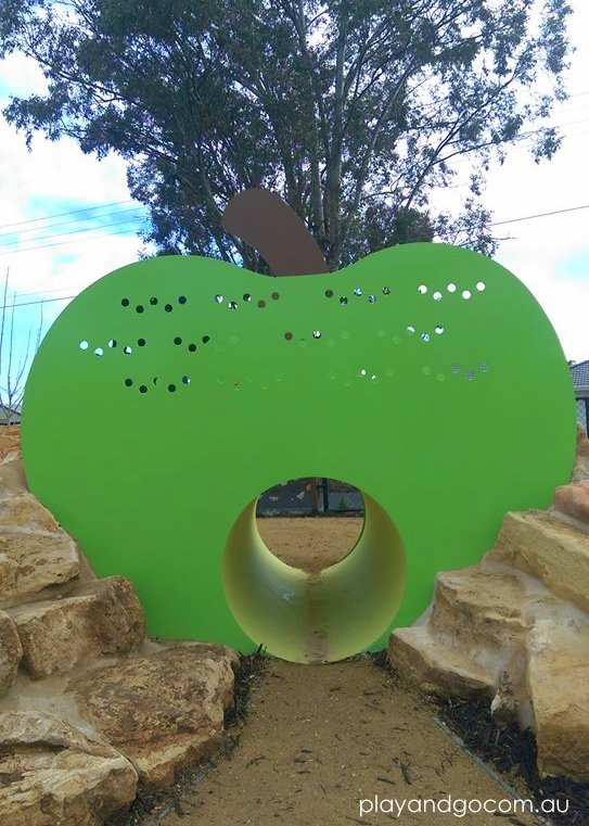 Jervois St a very hungry caterpillar apple