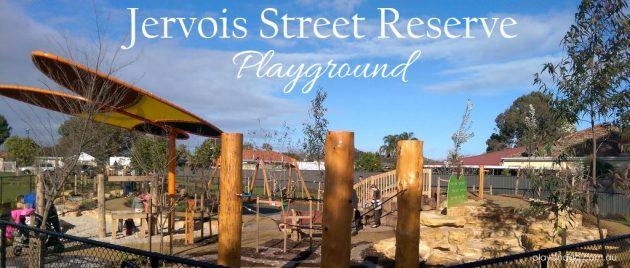 Jervois St fenced playground