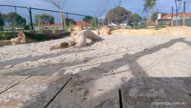 Jervois St sandpit
