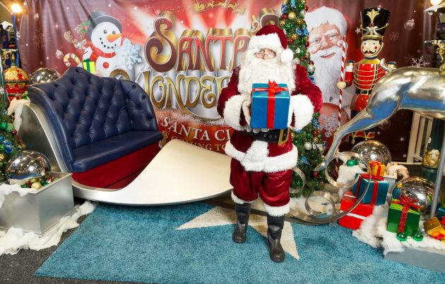Santa's Wonderland - Santa with sleigh