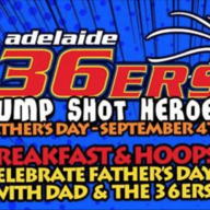 Adelaide 36ers Fathers Day Breakfast and Training