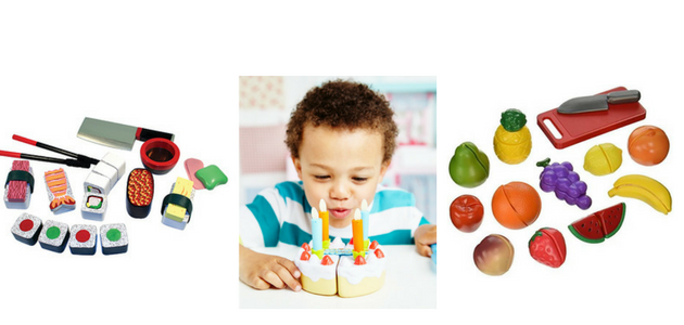 Birthday Present Ideas for a One Year Old - velcro food