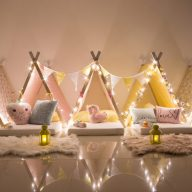 Birthday Party Ideas: Sleepee Teepee