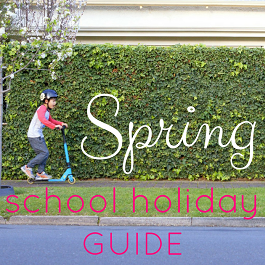 Spring 2016 October School Holiday Guide